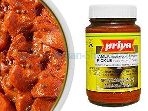 Amla Pickle, Indian Gooseberry, Hot Pickle, Priya, 300g