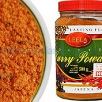 Curry Powder, Roasted, Hot, Sri Lanka, Leela, 500g