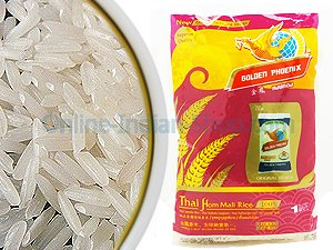 golden phoenix, rice, jasmaine rice, thai