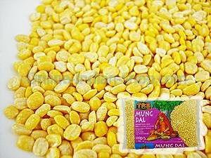 mung dal, split moong beans, yellow dal, paasi paruppu, trs